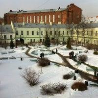 Снимок сделан в Университетский дворик пользователем Aleksandra Z. 3/1/2012