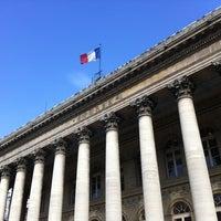 Photo taken at Palais Brongniart (Ancienne Bourse de Paris) by François T. on 9/10/2012