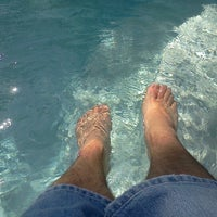 Photo taken at Toes N Pool by Topher A. on 7/1/2012