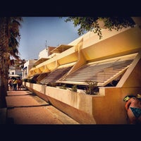 Photo taken at Playa de San José by Alfonso D. on 8/12/2012