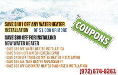 Water Heater Richardson TX