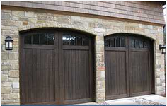 Garage Door in Spring