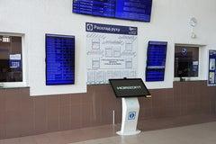 Железнодорожный вокзал в Полоцке - Железнодорожный вокзал
