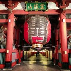Photo of 浅草寺 雷門 (Kaminarimon Gate) in 台東区, 東京, JP