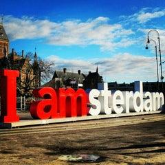 Photo of I amsterdam in Amsterdam, No, NL