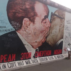 Photo of East Side Gallery in Berlin, Be, DE