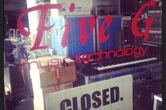 Five G music technology