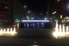 金沢駅兼六園口噴水時計