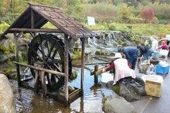 羊蹄山の湧き水