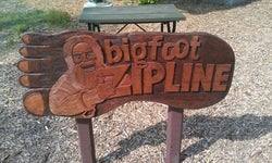 Bigfoot Zipline