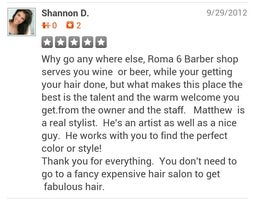 Roma 6 Barber Shop