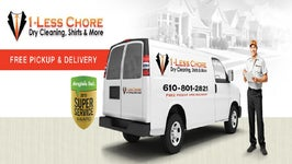 1-Less Chore Dry Cleaning, Shirts and More