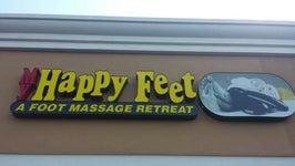 Happy Feet  (A Foot Massage Retreat)