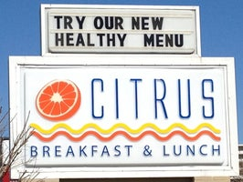 Citrus Breakfast & Lunch