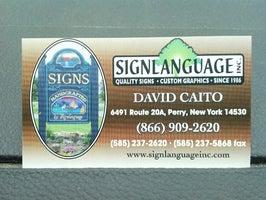 Signlanguage, Inc.