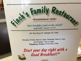 Finch's Family Restaurant