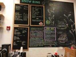 Snow Meets Coffee