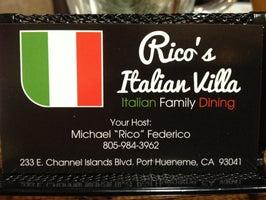 Rico's Italian Villa