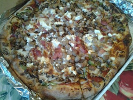 Rainbow Pizza