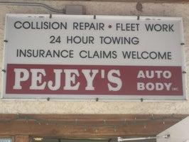 Pejey's Auto Body & Towing