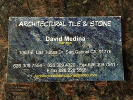 architectural tile and stone
