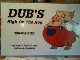 Dubs High On The Hog