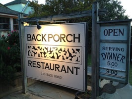 Back Porch Restaurant