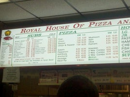 Royal House of Roast Beef & Pizza