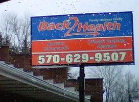 Back 2 Health Family Wellness Center