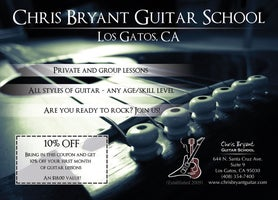 Chris Bryant Guitar School