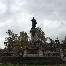 Monument to Adam Mickiewicz photo
