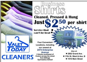 Valet Today Cleaners