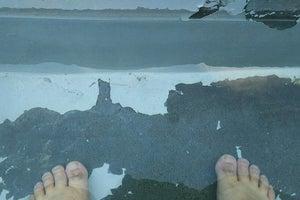 足湯 あったまりーな