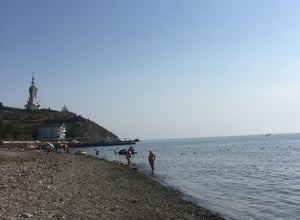Пляж Малореченское