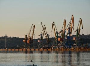 порт Феодосия