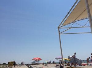 пгт. Мирный - пляж