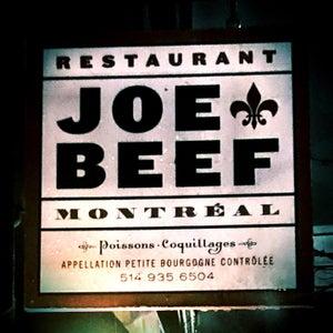 Photo of Joe Beef