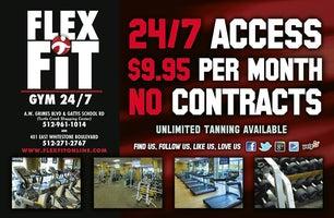 Flex Fit Gym 24/7 - Round Rock