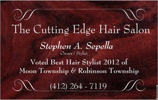 The Cutting Edge Hair Salon & Travel Agent