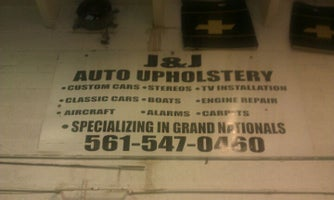 J And J Auto Upholstery Prices Photos Reviews Lake Worth Fl