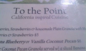 To The Point Cafe and Bakery