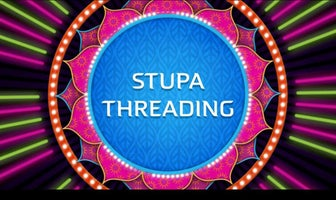 stupa threading