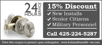 Locksmith FOR  Seattle WA