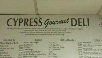 Cypress Gourmet Deli