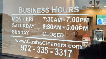 Cash's Cleaners