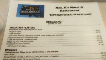 Mrs. K's Motel and Restaurant