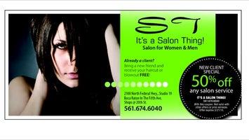 It's a Salon Thing!