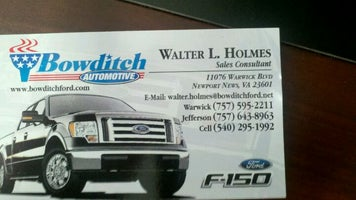 Bowditch Ford