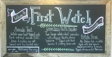 First Watch - Greystone - Now Open!