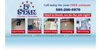 5 Star Cleaning & Restoration